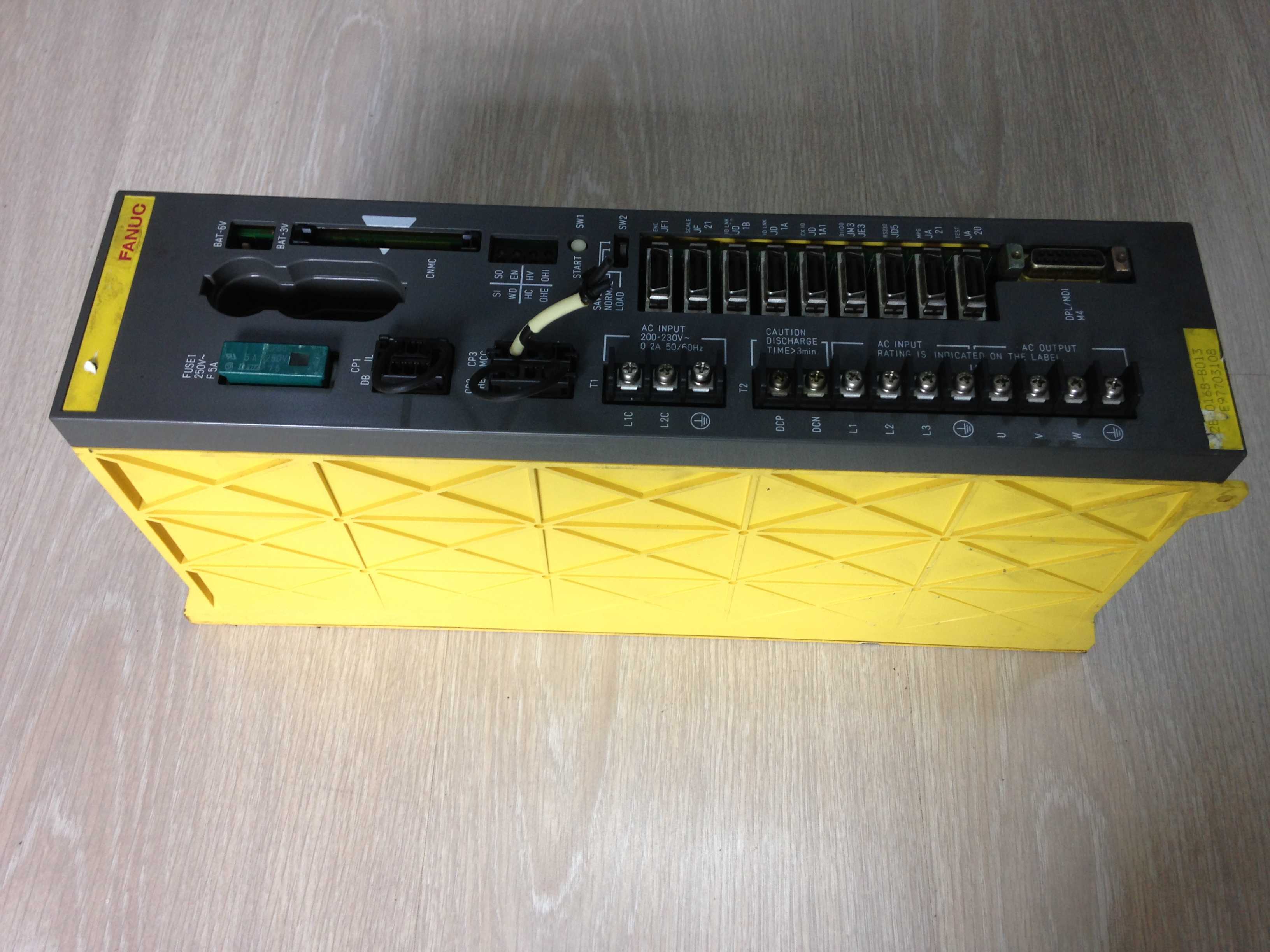 Fanuc A02B-0168-B013 Power Mate Module Tested