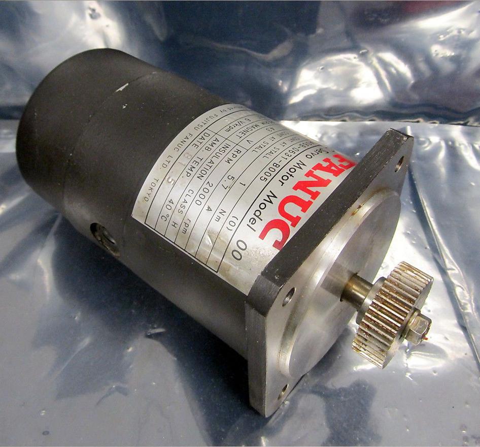 Fanuc A06b 0631 B005 Dc Servo Motor